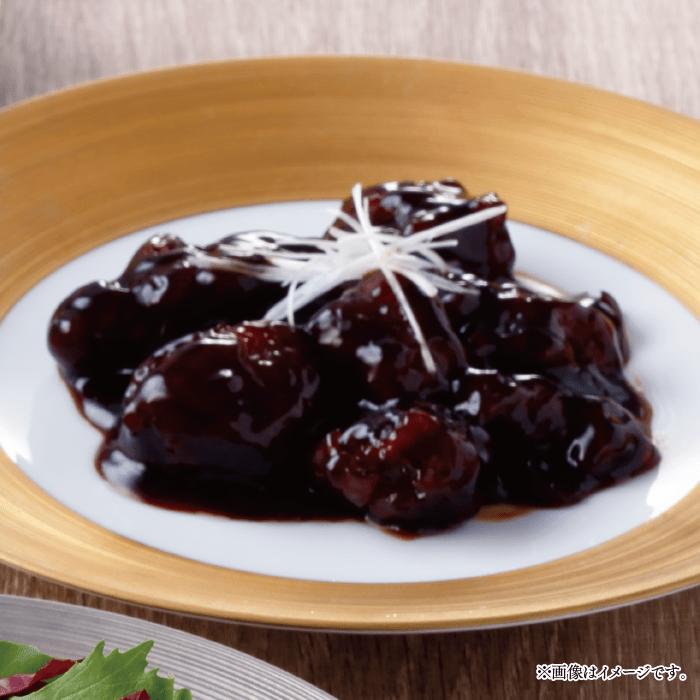 酢豚 黒 酢