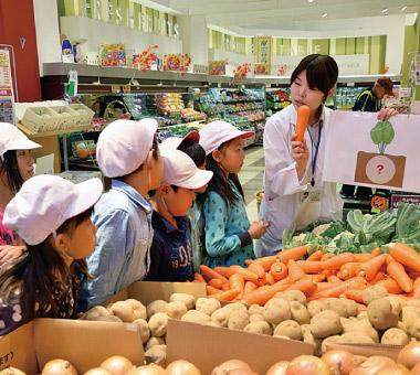 スーパーマーケットツアー