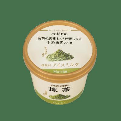 抹茶の風味とコクが楽しめる宇治抹茶アイス